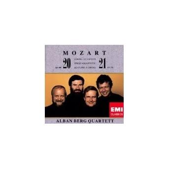 Mozart: String Quartet No. 20 & 21