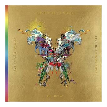 Live In Buenos Aires - 3 LP - 2 DVD - Live In Sao Paulo/A Head Full Of Dreams (Film, Butterfly Package, 3 LPs + 2 DVDs)