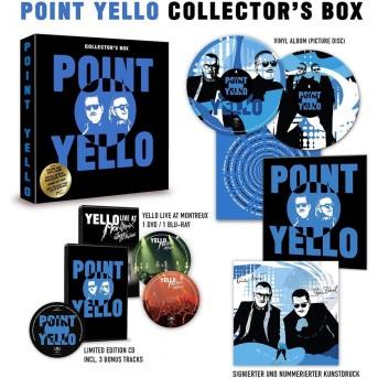 Point - CD - LP - DVD - Blue-ray (Limited Collectors Box, 3 Bonustracks)