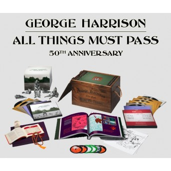 All Things Must Pass (2021 Reissue, Super Deluxe, Boxset, 5 CDs + Blu-ray) Audio-CD + Blu-ray