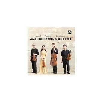 String Quartets-Wolf-Grieg-Janacek