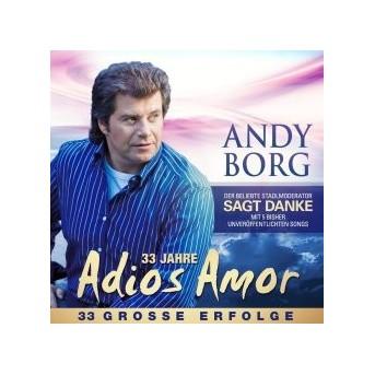 33 Jahre Adios Amor - 33 Große Erfolge - 2CD