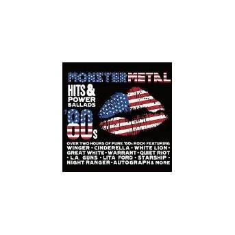Monster Metal Hits & Power Ballads - 2CD