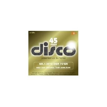 Disco - Nr.1 Hits der 70er - Ilja Richter - 3CD