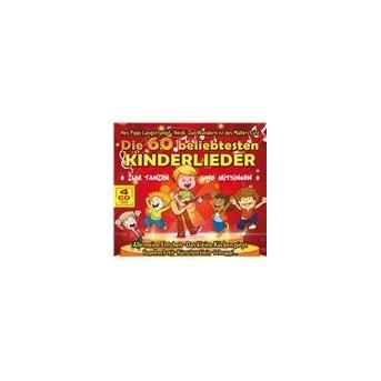 Die 60 Beliebtesten Kinderlieder - 4CD