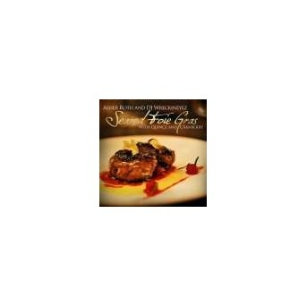 Seared Foie Grass With Quince And Cranberrz